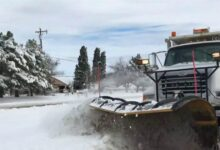 Photo of New Year's Day storm brings dangerous conditions