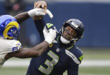 Photo of Russell Wilson: Seahawks offense 'flatlined' in second half vs. Rams