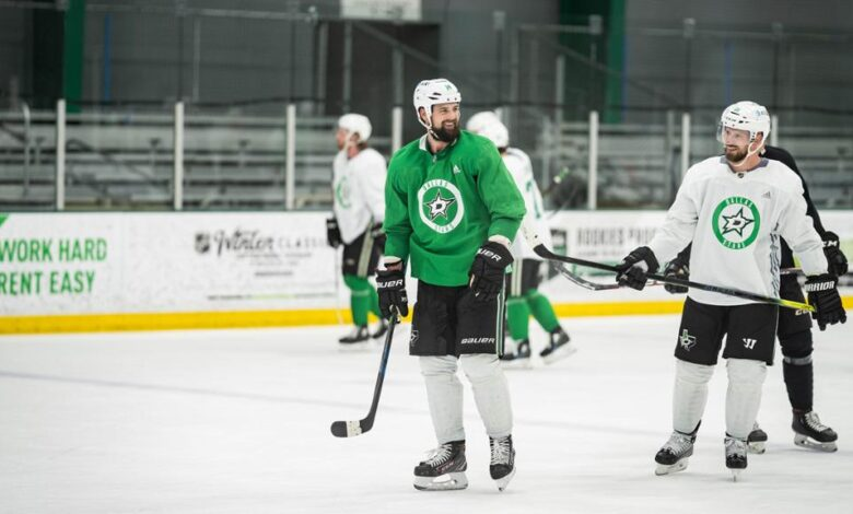 Stars return to practice after COVID-19 outbreak