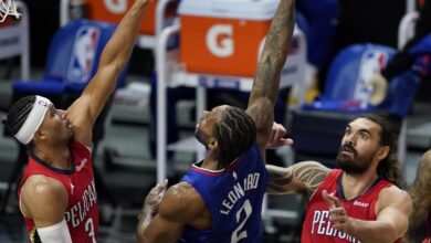 Photo of Kawhi Leonard Leads Clippers Past Zion Williamson-Less Pelicans in Win