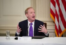 Photo of Microsoft President Brad Smith explains how political contributions really work