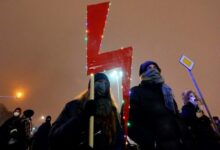 Photo of Poles hold more protests over abortion; activist released