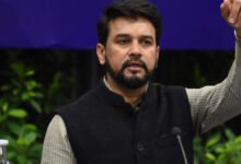 Photo of Indian economy looking at 'V-shaped' recovery: Anurag Thakur