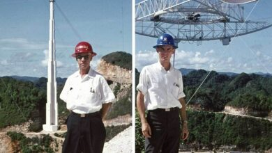 Photo of This Father-and-Son Duo Was Essential to Ionospheric Research at the Arecibo Observatory