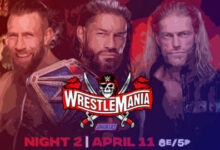 Wrestlemania 37 Night 2 Results, Review, And Recap For The Peacock Live Stream