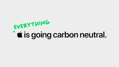 Photo of Apple touts its 2030 carbon neutral goal in new Earth Day video