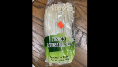 Photo of Another enoki mushroom recall because of Listeria risk