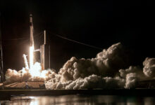 Photo of SpaceX launches astronauts on recycled capsule and 'flight-proven' rocket
