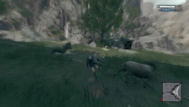 Forget Shades, goats are my mortal enemy in Nier Replicant