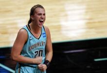 Photo of Liberty's Sabrina Ionescu Notches 1st Career Triple-Double; 10th in WNBA History