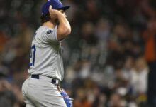 Photo of Bauer K's 11, Dodgers beat Giants for fifth straight win