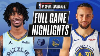 Photo of GRIZZLIES at WARRIORS | FULL GAME HIGHLIGHTS | May 21, 2021