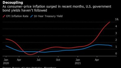 Photo of Summers Surprised by Bond Yields Falling Even as Inflation Jumps