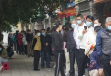 Coronavirus: travel restrictions imposed on Chinese border city after local infections reported