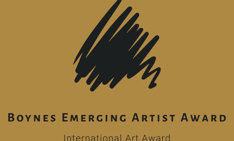 The Boynes Emerging Artist Award Launches the 5th Edition of This Award