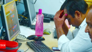 Sensex plunges 525 points as metal, bank stocks fall; Nifty ends below 17,400